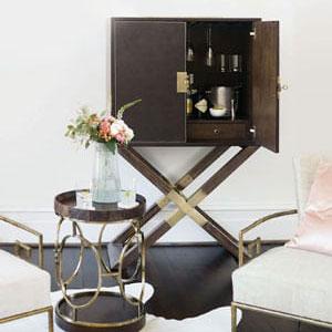 Bernhardt Bar Carts & Cabinets