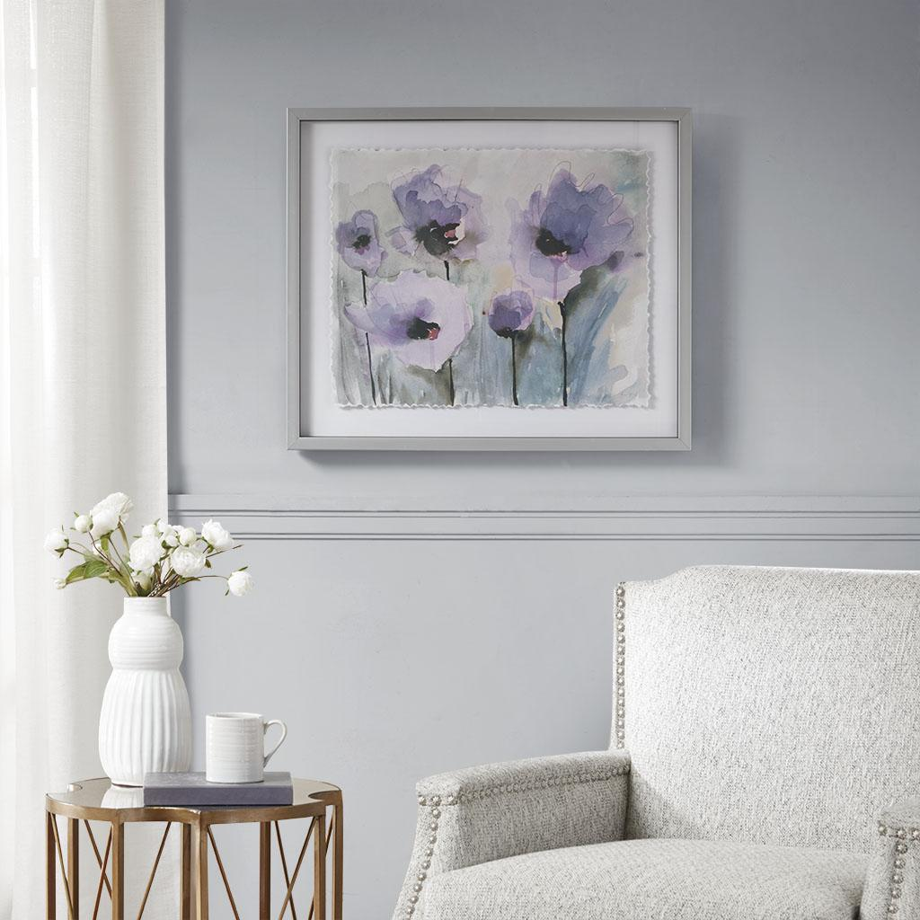 Lilac Blooming Spring Frame Graphic | Brown Interiors