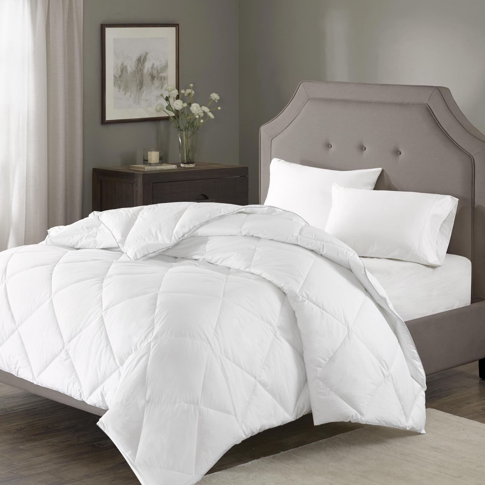 Madison Park 1000tc Cotton Blend Down Alternative Comforter Brown Interiors