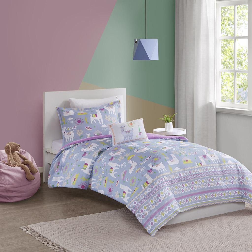 Andes Printed Llama Comforter Set