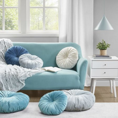 Decorative Pillows, Chair Pads and Poufs